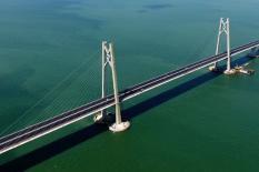 Применение ZINGA на мосте Гонконг - Макао