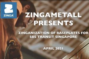 Видеоролик о примении ZINGA нашими коллегами из Сингапура